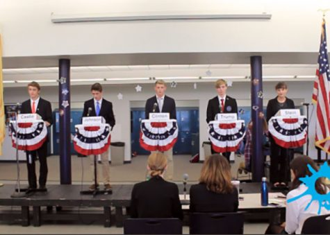 Mock Presidential Debate features scandals, policies and personalities