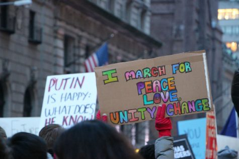 Students march for women's rights in D.C, NYC and Asbury Park