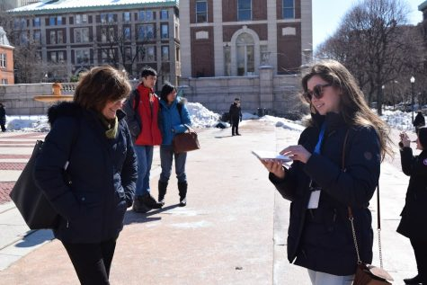 Junior Inkblot editors attend Columbia University conference