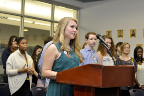 PHOTO SLIDESHOW: 2013 NAHS Induction Ceremony