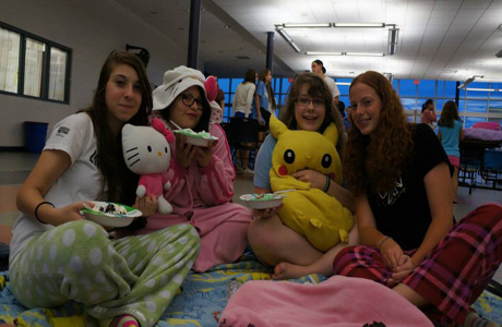 Frosh movie night: a 'bonding moment' for Class of 2016