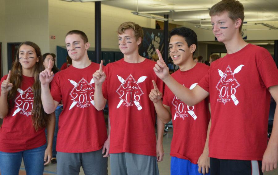 Juniors win first ever Fall Spirit Week dodgeball tournament