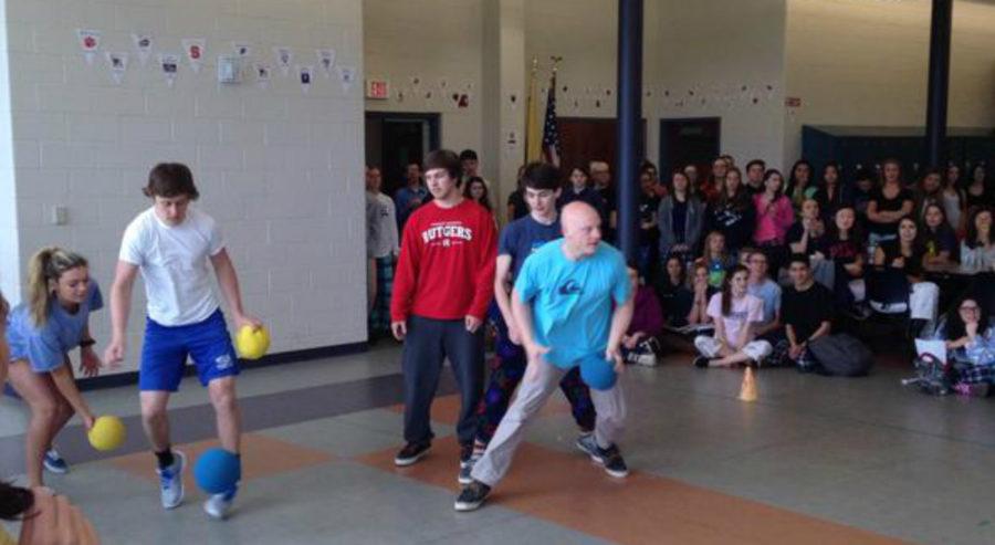 Dodgeball tournament, Pajama day begin Spring Spirit Week