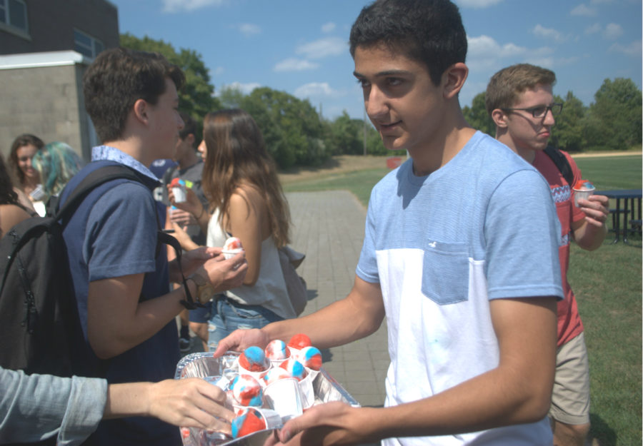 First day assembly, frosty treats welcome students back