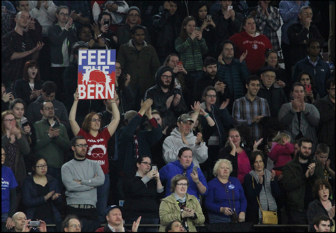 Feelin' the Bern – sights at a Sanders rally