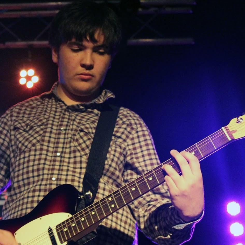 Sophomore James Sleeman on Neptune regularly performs at the Stone Pony in Asbury Park.