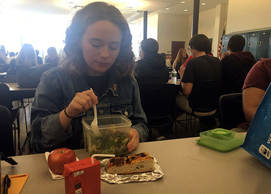 One month after her initial experiment, DeRose continues to eat vegan.