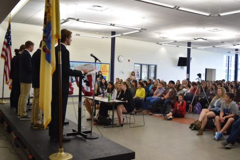 Candidates and students met on Friday to debate important issues facing teens and the country.