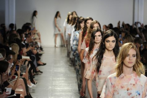 Fashion Week got a boost this year by social media. Top fashion models tweeted and featured their images on Instagram and Snapchat.