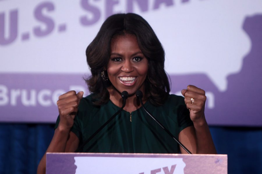 Many+Americans+want+Michelle+Obama+to+run+for+president+in+2020.