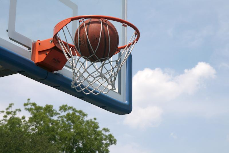 Shooting+baskets+is+the+main+goal+of+Basketball%2C+the+sport+Ferraro+used+to+play.
