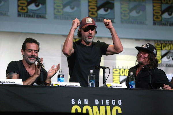Stars of the hit show The Walking Dead at San Diego Comic Con 2016.