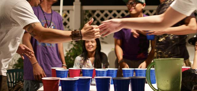 underage drinking in college