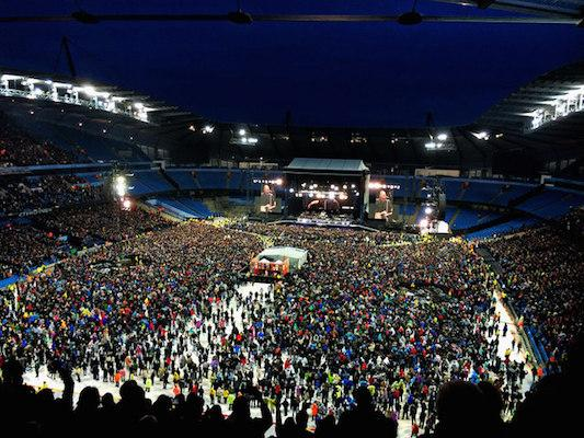 Bruce Springsteen played at MetLife Stadium this summer.