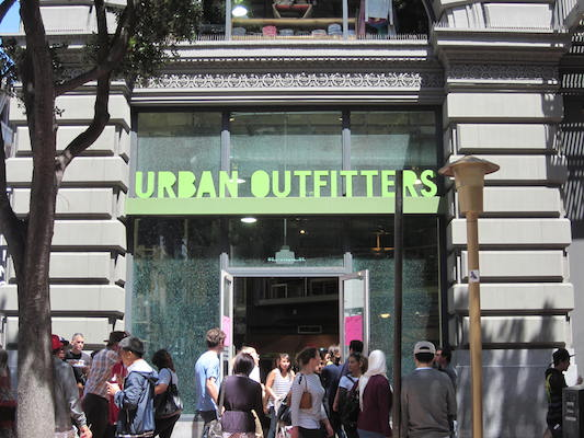 Urban Outfitters is one of the many stores that carries bralettes.