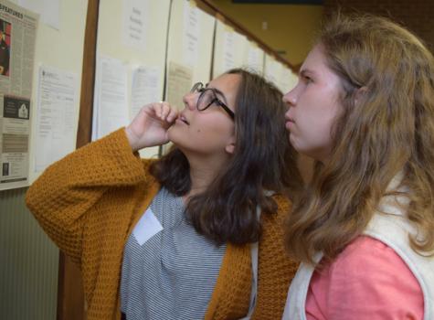 Inkblotters attend Fall Press Day at Rutgers