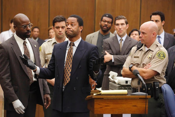 Cuba Gooding Jr. played O.J. Simpson in the hit show The People v. O.J. Simpson: American Crime Story.