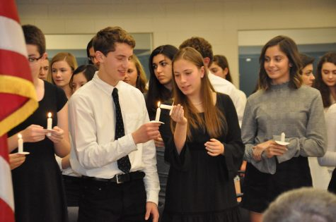 NHS and NTHS host annual induction ceremony