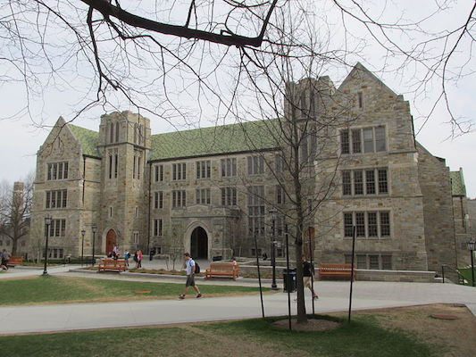 Boston College, where annual tuition is $65,644 for the 2016-17 school year.