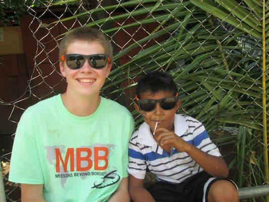 Senior Isaiah Drake of Spring Lake Heights spent summers helping Nicaraguan children.