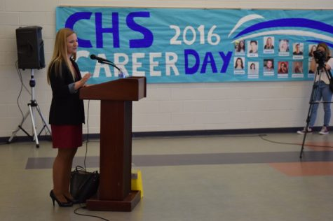 Annual Career Day brings wide range of jobs to CHS