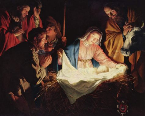 Students discuss the Christ in Christmas