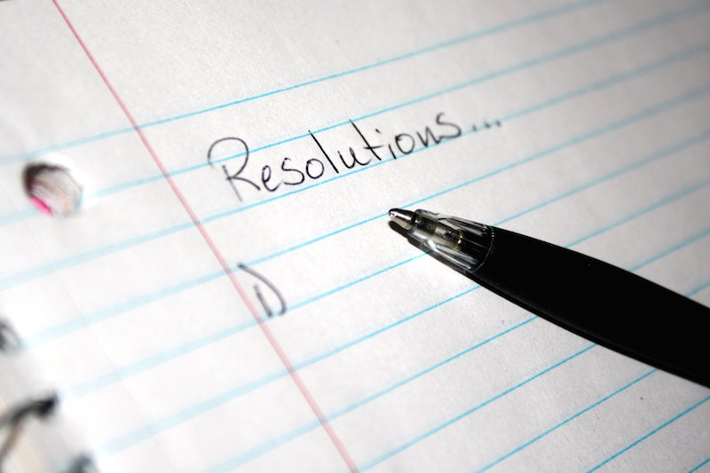 Making a New Years resolution is popular, but usually doesnt last very long.