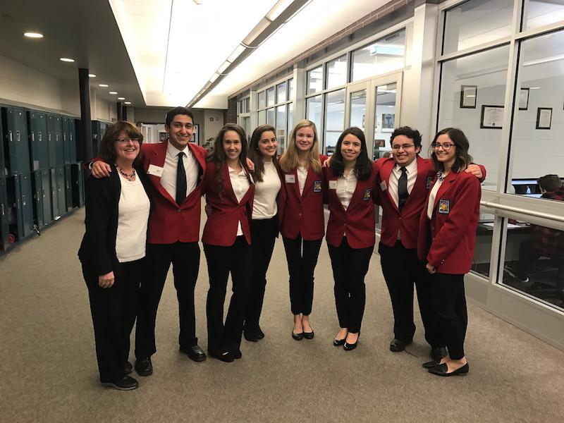 SkillsUSA members after  their competition in Trenton, N.J..