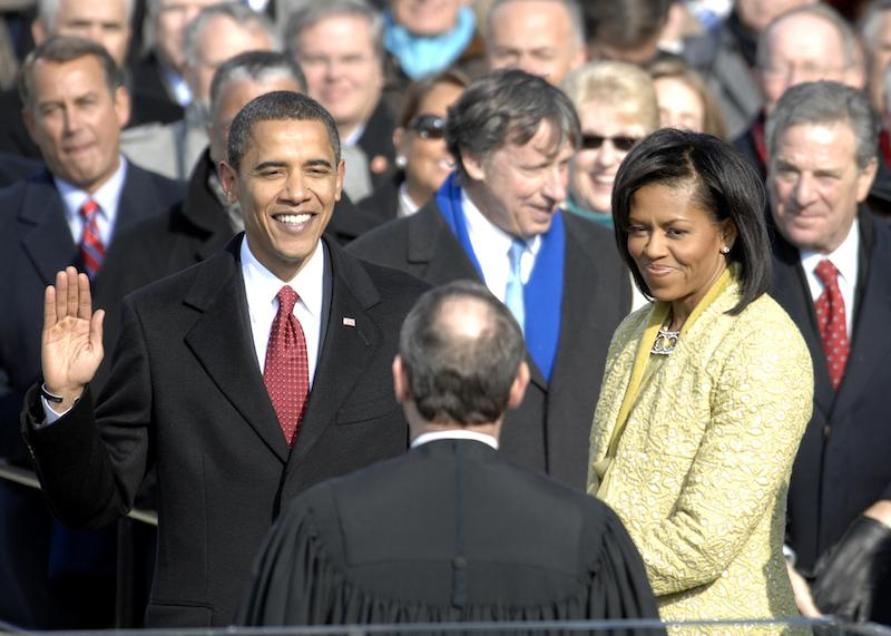 With+his+family+by+his+side%2C+Barack+Obama+was+sworn+in+as+the+44th+president+of+the+United+States.