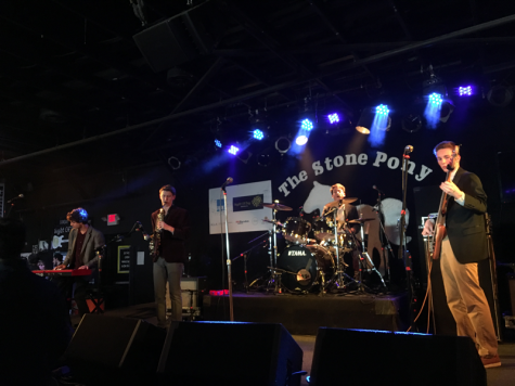 The Stone Pony in Asbury Park is a popular venue for teens and teen musicians, like Junior Cole Raymond of Middletown, who performed there with his band Kat Phunk.