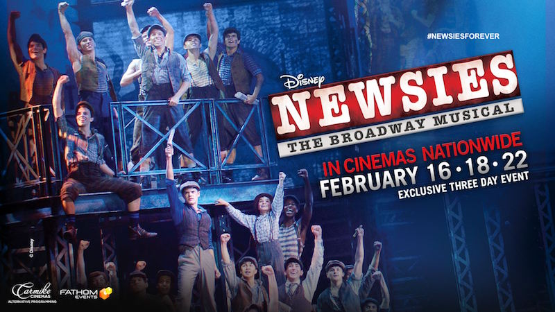 "Disney's ""Newsies: The Broadway Musical"" was initially set to show only on Feb. 16, 18 and 22, an extra day was added on Mar. 4."