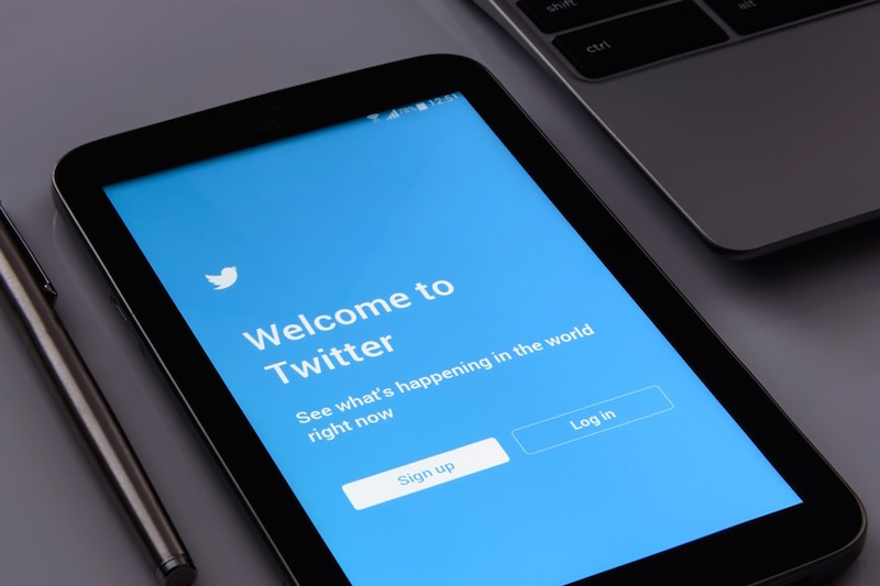 Twitter+is+one+of+the+most+popular+social+media+sites+among+news+organizations.