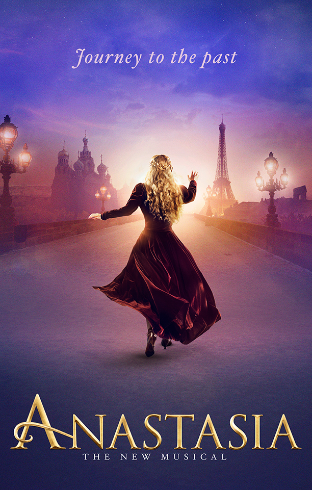"Based on the 1997 animated classic ""Anastasia"" directed by Don Bluth and Gary Goldman, the musical follows the tumultuous and trying life of a street sweeper turned Grand Duchess."