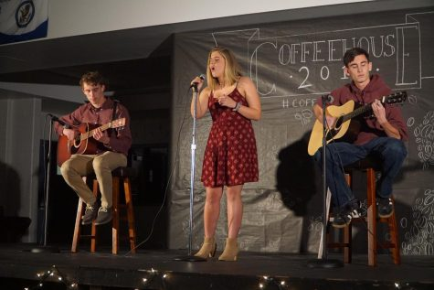 Students showcase talents at Coffeehouse