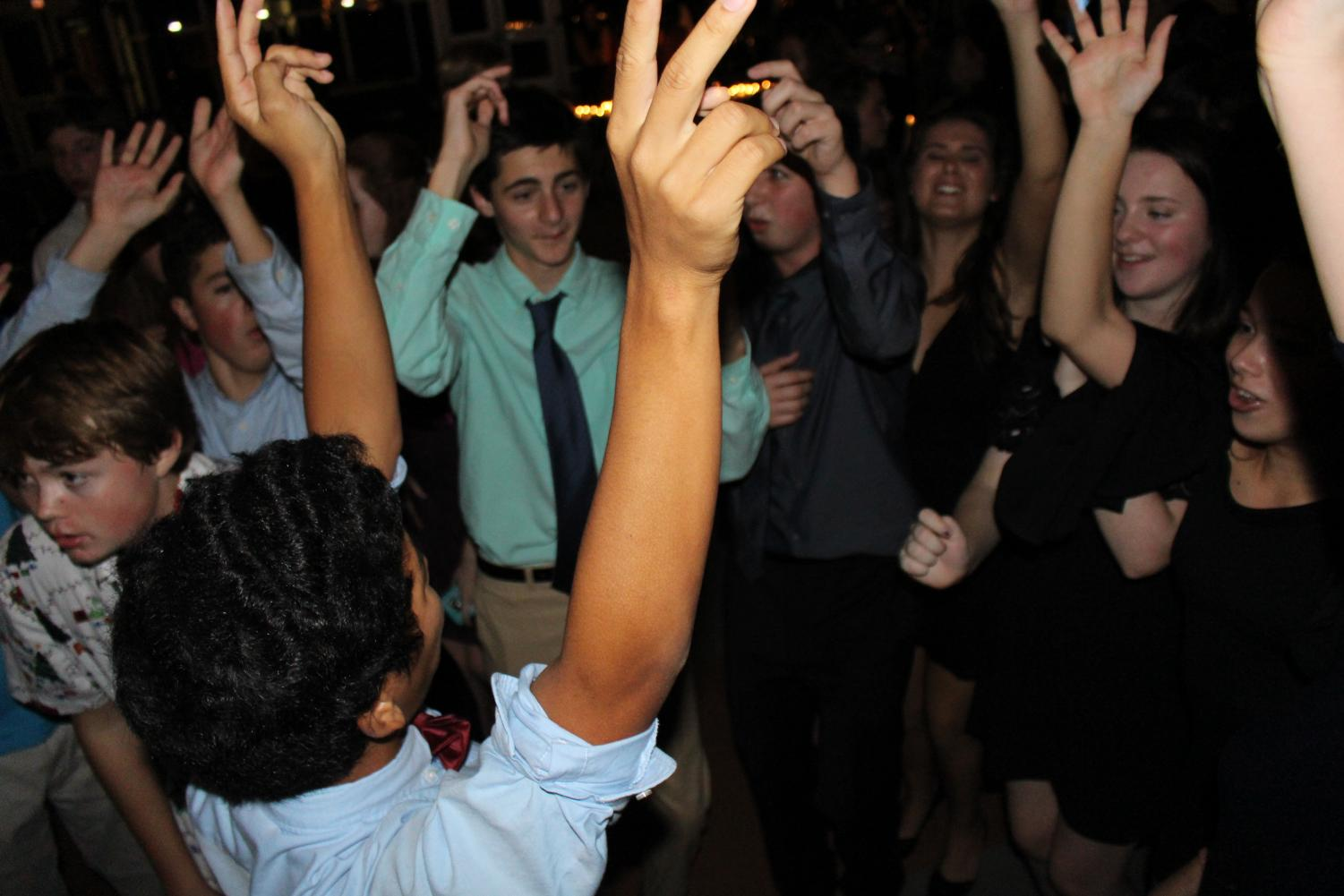 Students danced to hits by artists such as Nicki Minaj and Pitbull at the first ever homecoming dance.
