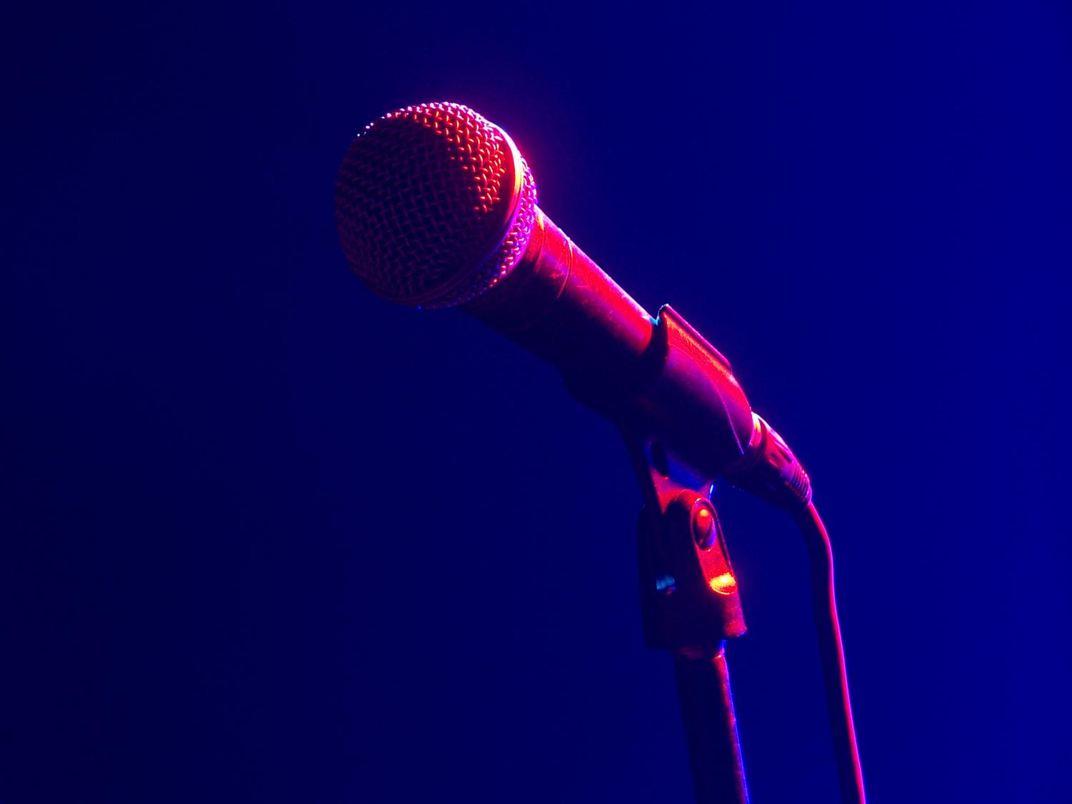 Open mic nights give people the chance to express themselves in a variety of different ways.