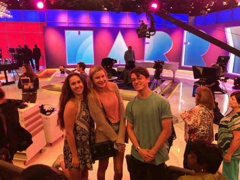 "TV students get full live studio experience at ""Harry"""