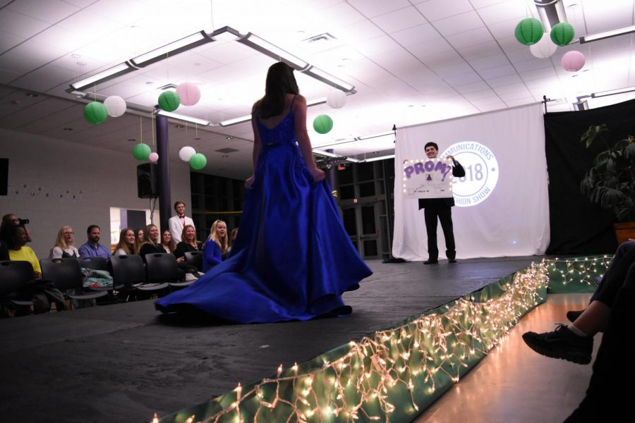 The fashion show on Feb. 23 featured clothes from stores all over Monmouth County along with refreshments and promposals.