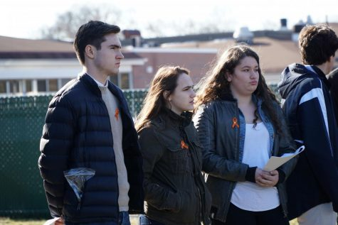 CHS students walk out in protest, support