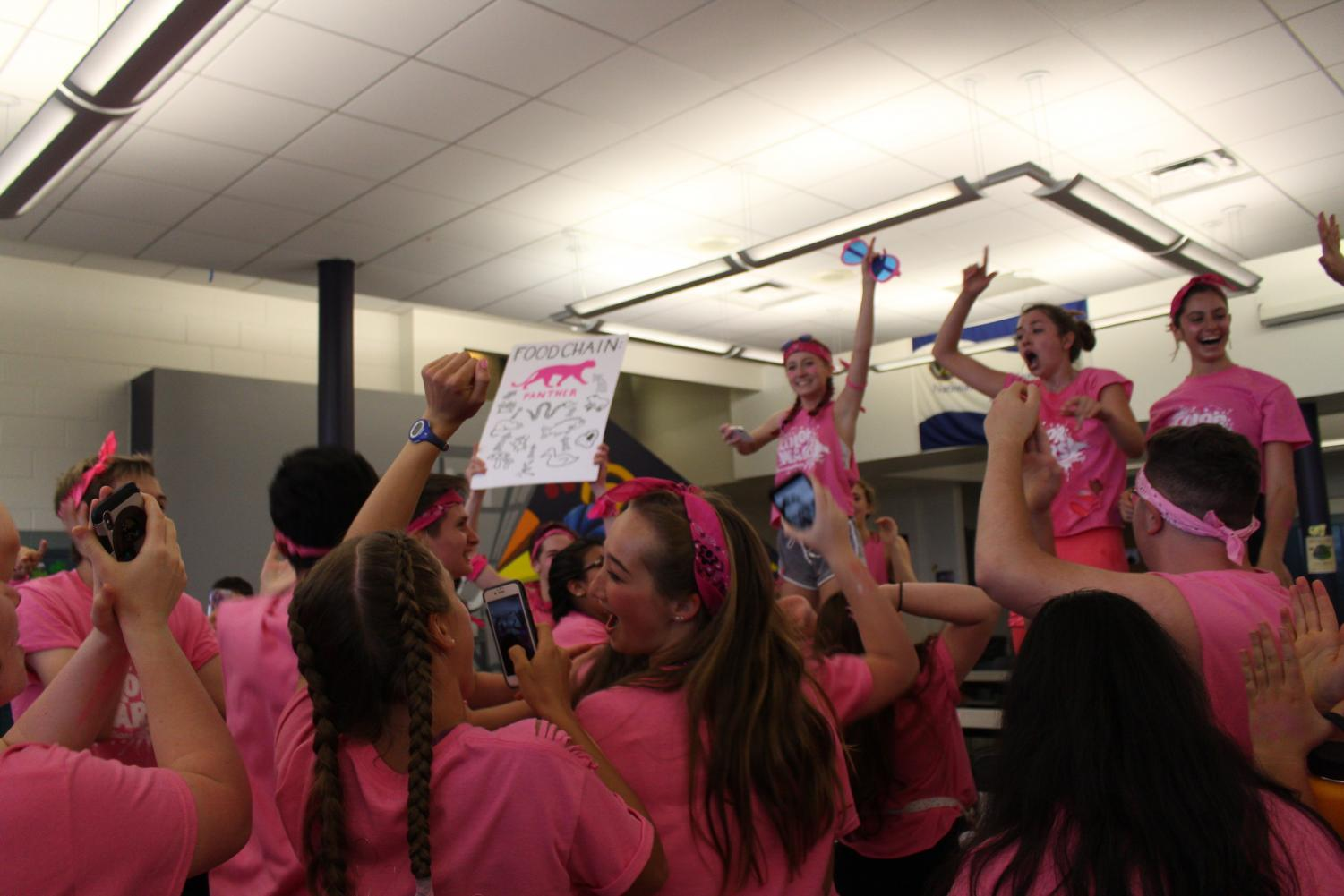 Color+Wars+concluded+with+the+Pink+Team+coming+in+first+place%2C+the+Purple+Team+in+second+place+and+the+White+Team+in+third.+