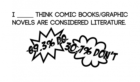 Graphic novels qualify as literature
