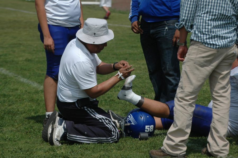 Approximately+2+million+injuries+annually+come+from+high+school+sports.