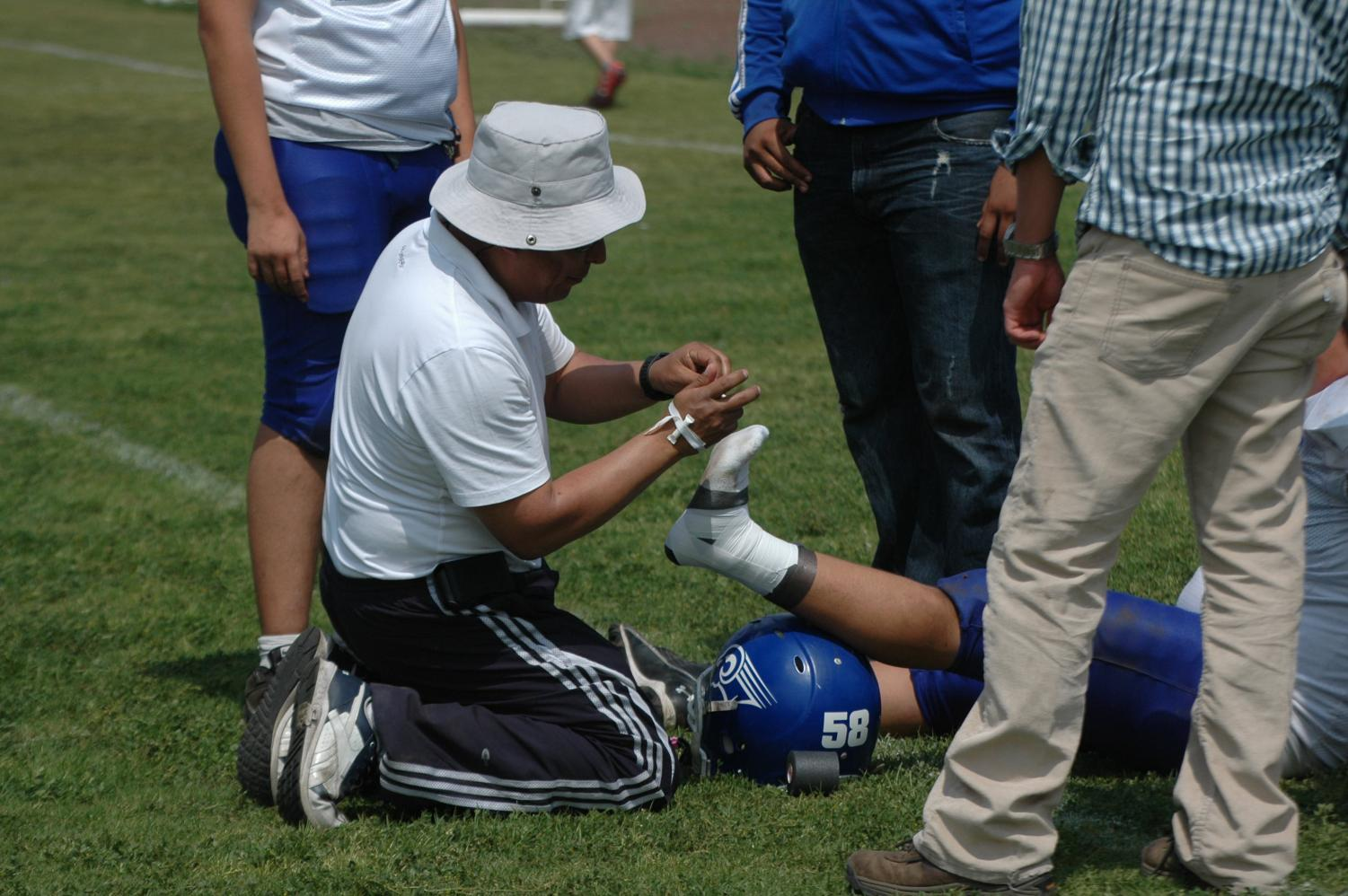 Approximately 2 million injuries annually come from high school sports.