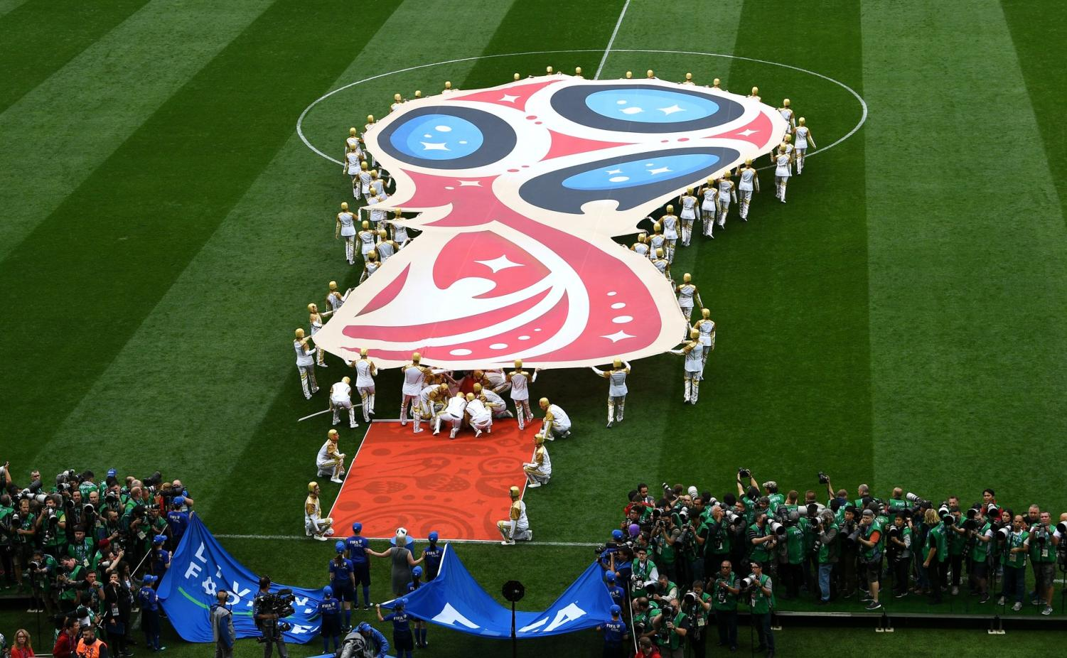 Image from the 2018 FIFA World Cup Opening Ceremony.