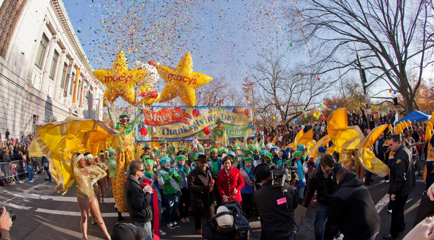Each year, the Macy's Thanksgiving Day Parade is part of many Americans' traditions for Thanksgiving Day.