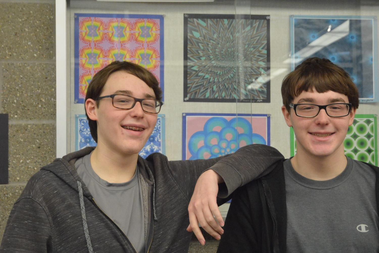 Freshmen Jacob Bazer and Matthew Bazer of Ocean agreed to stay together for high school.