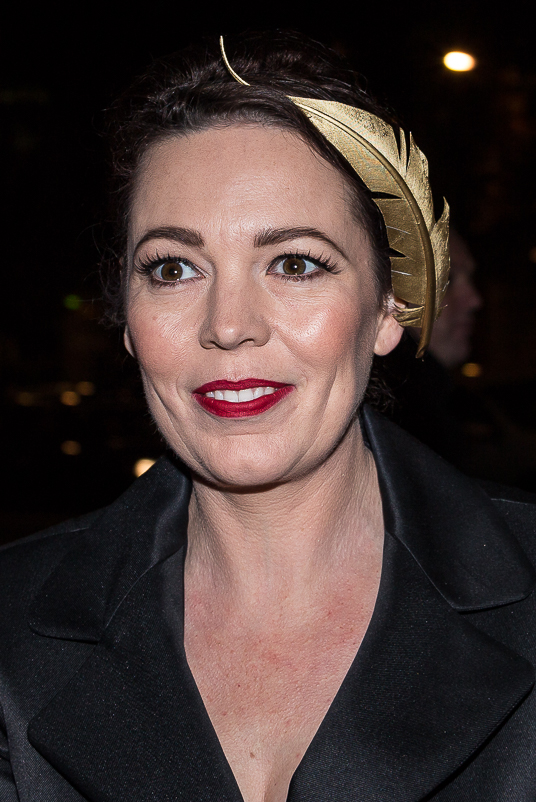 Actress Olivia Colman plays Queen Anne in