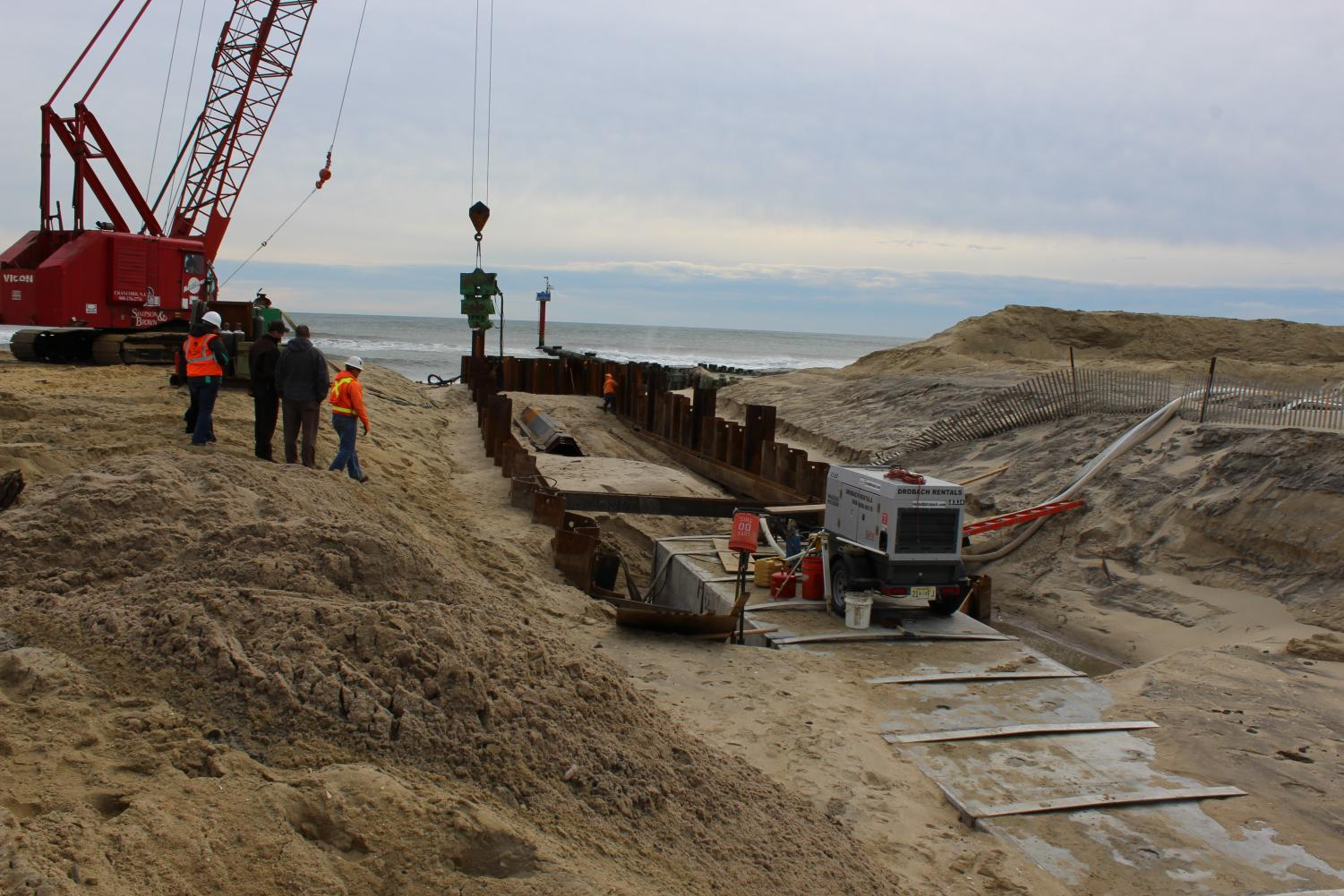 Wreck Pond underwent dune restoration in 2015 to connect the pond to the ocean through a 600 foot culvert. https://creativecommons.org/licenses/by/2.0/