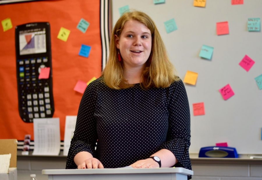 Junior Grace Quakenbush of Wall was elected to be the president of the club on Tuesday.