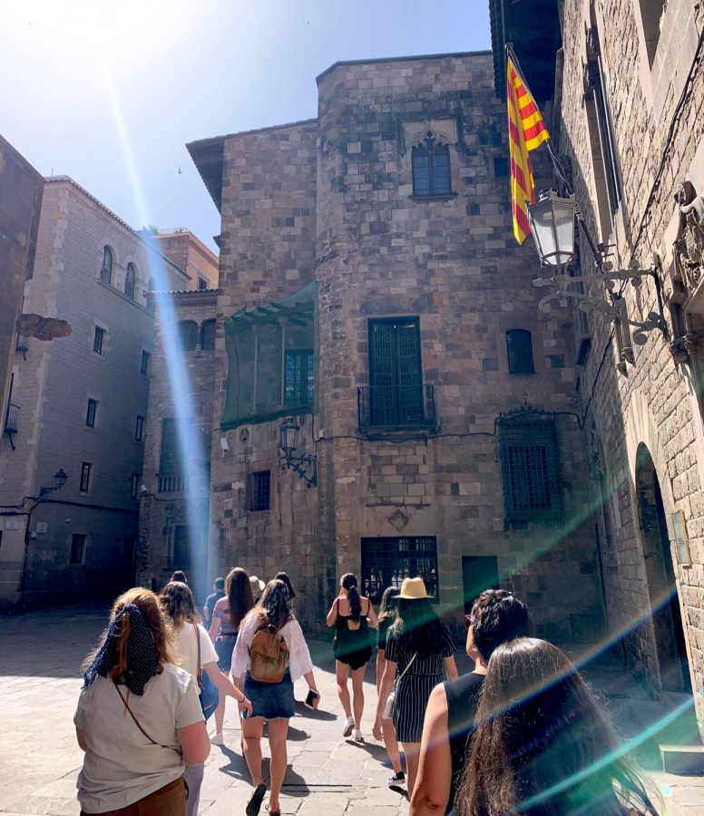 A group of 21 CHS students traveled abroad to Spain this summer, a trip organized by Spanish teacher Sabina Campbell.